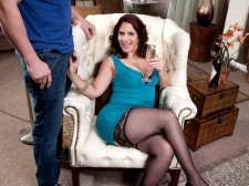 Sabrina Speaks The Language Of Bigger than typical Cock