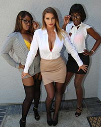 Brooklyn Look for, Ana Foxxx & Skyler Nicole