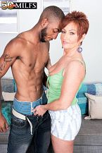 Young, dark cock for SEXY HOUSEWIFE Ruby O'Connor